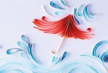 Paper Quilling by Mary Imbong / Original Paper Quilling pieces by me (custom-made and personal artworks)