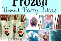 Frozen and snow theme