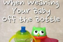 Weaning / Transitioning from milk to solids is hard work for mommy and baby! Here are tips for weaning from milk to solids and from breastmilk to other milk!
