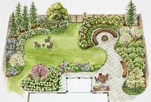 Zahrada návrhy