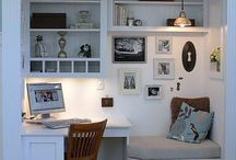 HOME WORKSPACES / HOME OFFICES