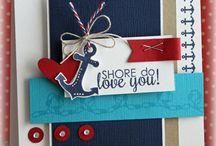 Beach nautical cards tags / by cathy carroll