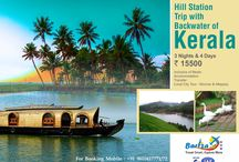 Beauty of South India / Packages we are offering , which is expressing beauty and glory of south India.. visit us at www.barizaholidays.con