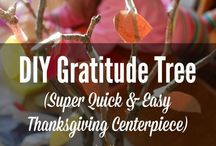 Decor for fall: Halloween and Thanksgiving
