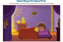 God Spoke to Samuel Bible Activities / Samuel was dedicated to the Lord by his mother before he was born. As a child serving in the house of the Lord, God spoke to Samuel and Samuel was obedient. These Bible activities for children will help kids understand that God still speaks to people and desires us to be obedient.
