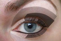 Нанесение теней для глаз