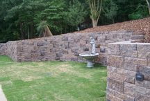 GeoStone - Retaining Walls / Retaining walls and other hardscape applications