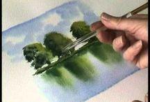 fák tükrözödése