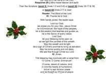 Advent preparation, prayers and links