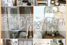 Cottage style warm and cozy.