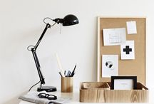 YUJEN at the office / Working from home requires discipline and a beautiful creative space in which to work and be productive. Here you'll find pins and home office design inspiration.