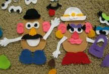 PARTY PLANNER - POTATO HEADS / by Diane