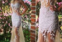 Mermaid prom dresses / Mermaid prom dresses can show your cruves perfectly