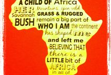 I am a child of Africa