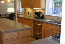 Kitchen cabinetry / Different styles and ideas for kitchen cabinetry.