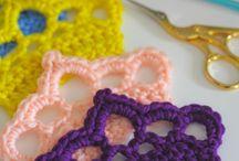 Crochet bits & appliqué