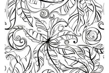 Adult Colouring Pages / Printable pictures for colouring.