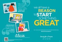 Become an Avon Rep / Become an Avon Rep today! Join my team! www.startavon.com (enter reference code: LARIAS)