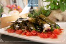 Appetizers - Meze Dishes / Μεζεδάκια με φρέσκα ψάρια, θαλασσινά και λαχανικά για να τα συνοδεύετε με τα αγαπημένα σας αποστάγματα