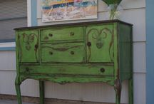 Antibes Green - kolor tygodnia/colour of a week - Chalk Paint decorative paint by Annie Sloan