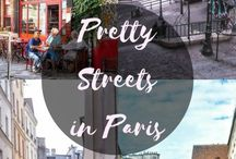 Pretty streets in Paris / Pretty streets in Paris