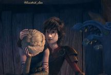 Hiccup i Astrid