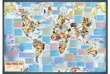 Childrens Maps / Maps, globes, map art all aimed at children to help them learn, discover and explore