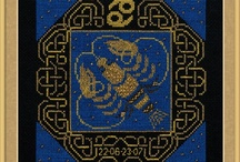 Patrones punto de cruz the craft collection
