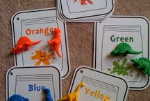Color Crafts / Teach color identification and appreciation with these fun art activities for little hands! #art #ece