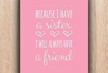 friends... sisters