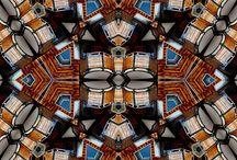 Buildings Avoriaz / Avoriaz photo pattern.