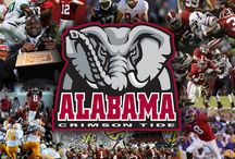 Yea Alabama Y'all Ready To Rolllll Tide!! Football Baby / We Are Roll Tide Bama Baby! / by Linda McRea