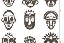 Aztek mask