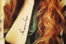 Bookish Tattoos