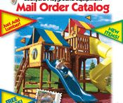 Backyard Playground Catalog / Catalog of playground equipment for backyard playgrounds / by Detailed Play Systems