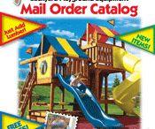 Backyard Playground Catalog / Catalog of playground equipment for backyard playgrounds
