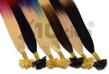 Extension capelli a Cheratina' / Le nostre Ciocche sono di alta qualità e utilizzano la colla polimerica come sostanza adesiva, utilizzata regolarmente dalle celebrità straniere e locali.