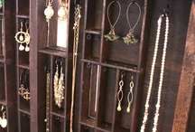 Jewelry displays / Creative displays for jewelry, in the home or at festivals