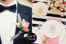Wedding Trends: Black! / Wedding details and inspiration based on the popular color, BLACK!