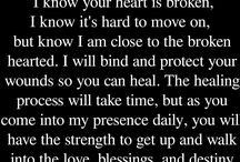 I know your heart is broken