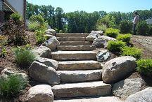 Hillside Steps & Garden