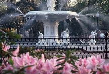Savannah, Georgia / Love the history and beauty of this place. / by Ruth Bellesen