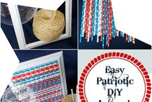 4th of July! / Patriotic July 4th themed food & drinks, BBQ ideas, creative party plans, crafts for kids and adults and home decorations.