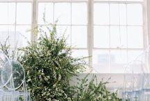 modern art / florist / wedding deco