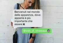 stati whatsapp