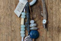 Necklaces Kettingen / Handmade