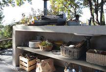 Cuisine jardin et terrasse