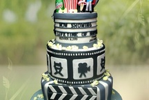 MOVIE THEME - Wedding cake and Sweet tables ideas