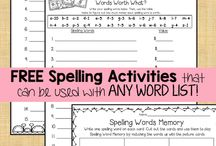 Spelling Ideas