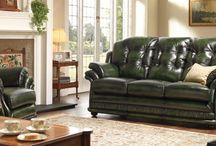 Senator Traditional Leather Furniture / Take a closer look at our range of Senator traditional leather furniture. (Available in a variety of colours - please see the website for more options) - http://www.thomaslloyd.com/range/senator/